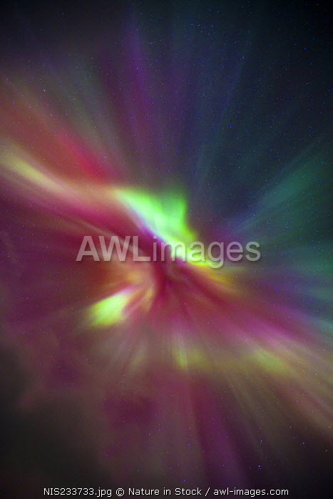 awl-images.com - Norway / Northern Lights (Aurora borealis) crown, Norway