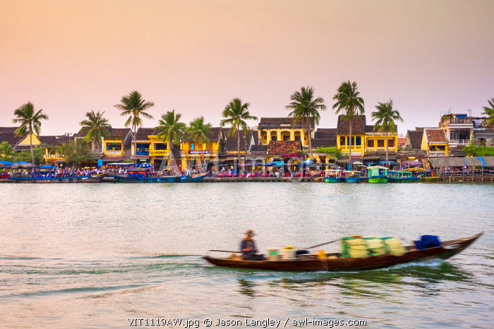 Hoi An Ancient Town on the Thu Bon River, Quang Nam Province, Vietnam