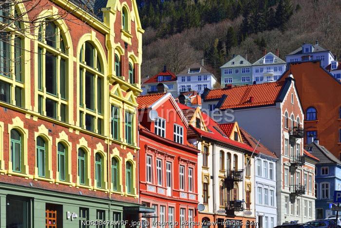 Bergen's Old Town. Bergen, Norway