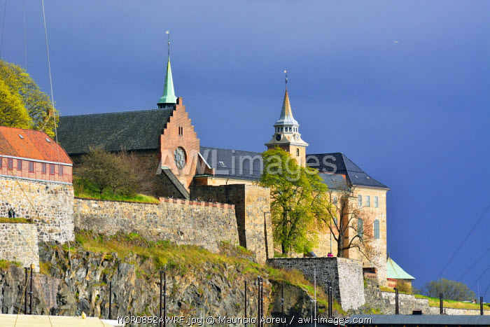 Akershus Fortress (Akershus Festning), an iconic guardian of Oslo. Norway
