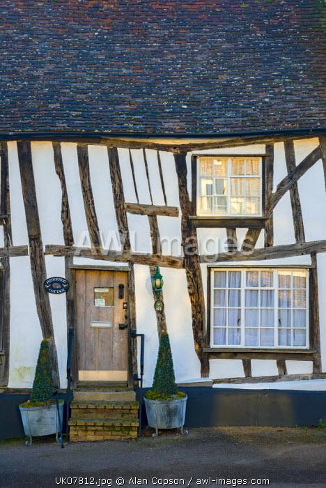 UK, England, Suffolk, Lavenham, High Street