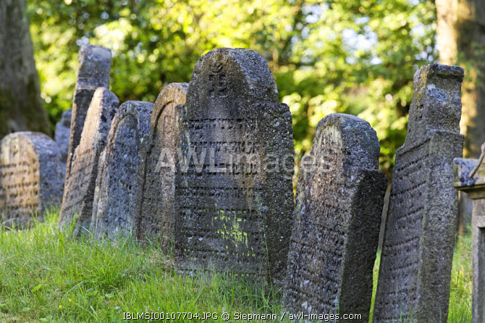 awl-images.com - Germany / Jewish graveyard in Floss , Upper Palatinate , Bavaria Germany