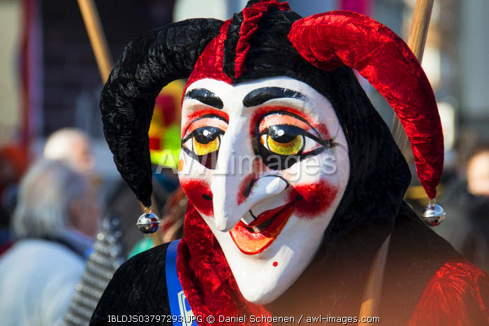 awl-images.com - Switzerland / Carnival parade, traditional carnival celebrations in Basel, Switzerland