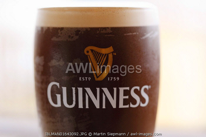 awl-images.com - Ireland / A glass of Guinness Stout beer, Republic of Ireland