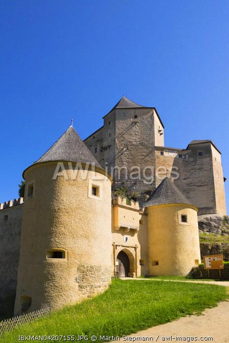 Rappottenstein Castle, Waldviertel region, Lower Austria, Austria