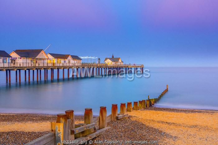UK, England, Suffolk, Southwold, Southwold Pier