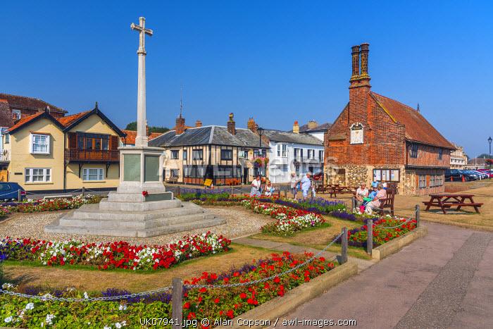 UK, England, Suffolk, Aldeburgh, Aldeburgh Moot Hall