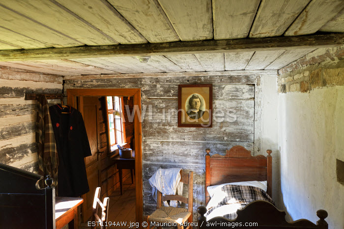 Interior of a traditional house. Estonian Open Air Museum. Rocca al Mare, Tallinn. Estonia