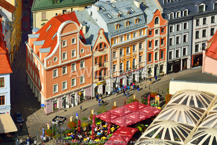 The Old Town, a Unesco World Heritage Site. Riga, Latvia