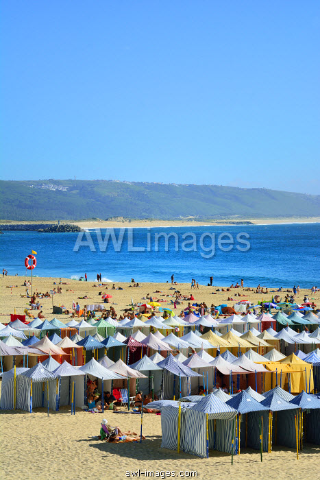 Nazare beach. Portugal