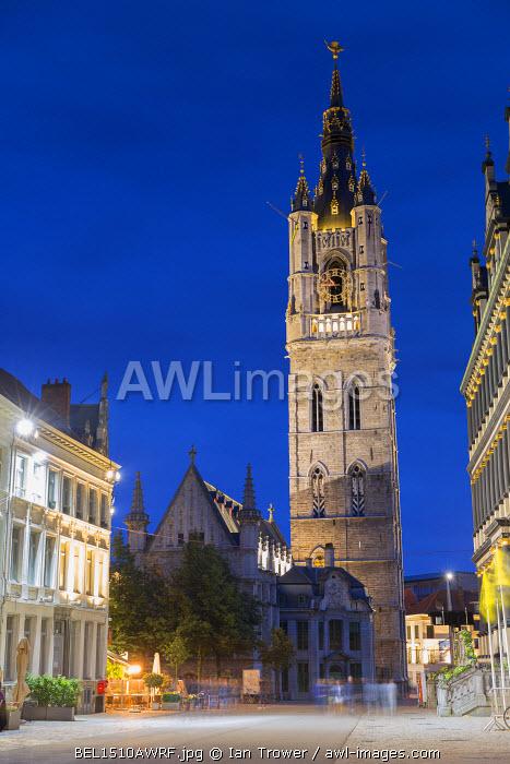 Belfry (UNESCO World Heritage Site) Ghent, Flanders, Belgium