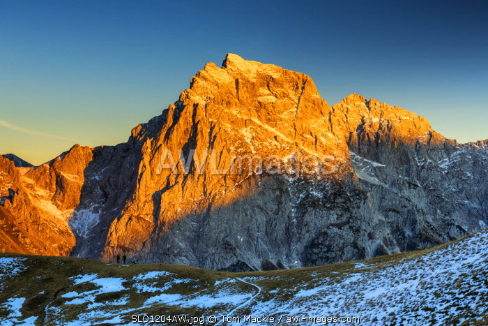 Mt. Jalovec, Triglav National Park, Slovenia, Europe
