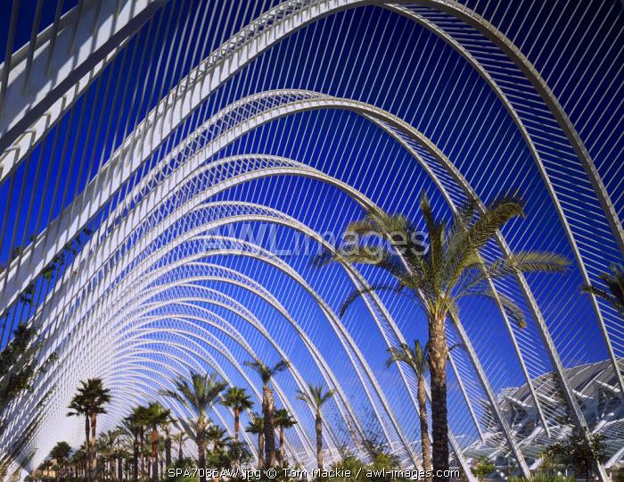 L Umbracle, City of Arts & Sciences, Valencia, Spain