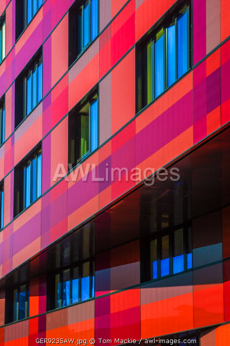Modern Architecture Detail, Hamburg, Germany
