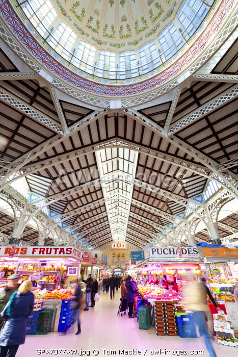 The Central Market, Valencia, Spain
