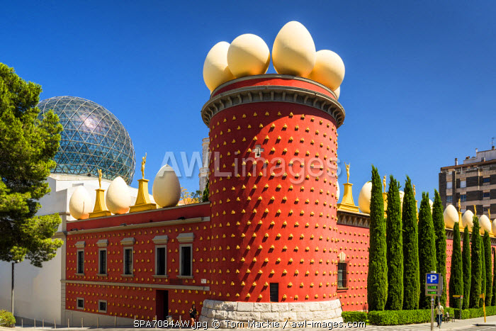 Salvador Dali Museum, Figueres, Catalonia, Spain
