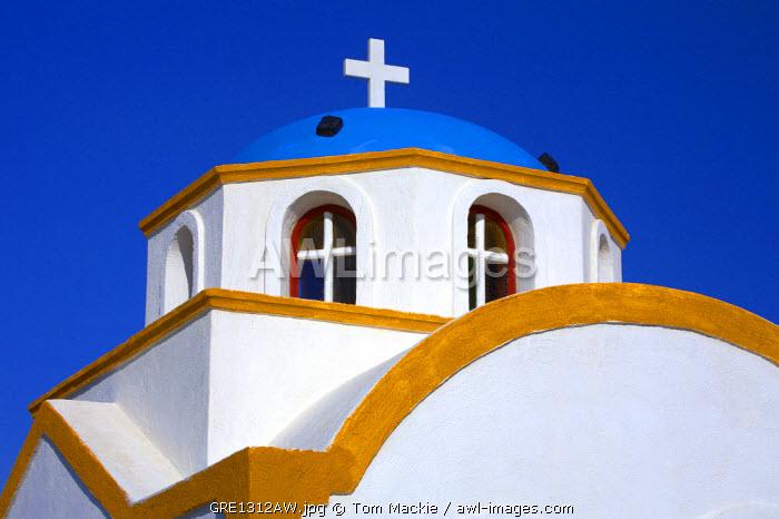 Colourful Church, Oia, Santorini, Greece