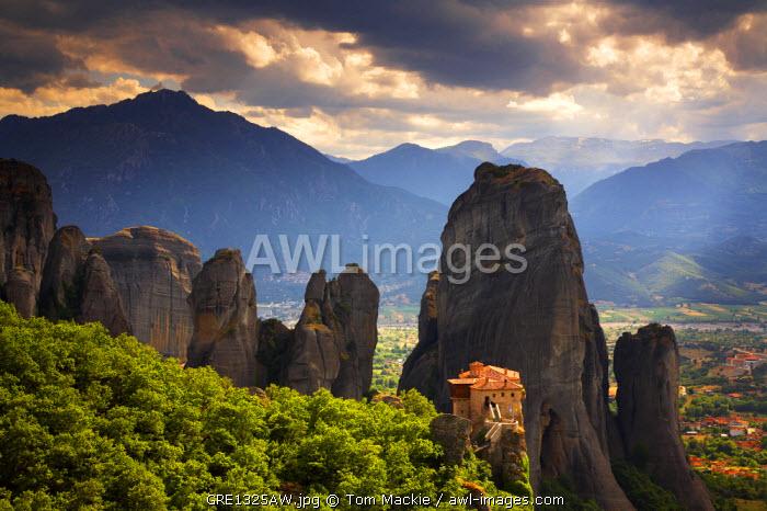 The Holy Monastery of Rousanou, Meteora, Kalambaka, Greece