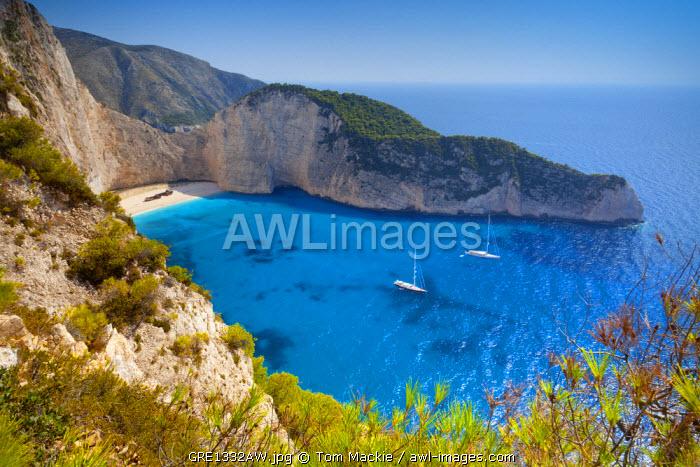 Shipwreck Bay, Zante (Zakynthos), Ionian Islands, Greece