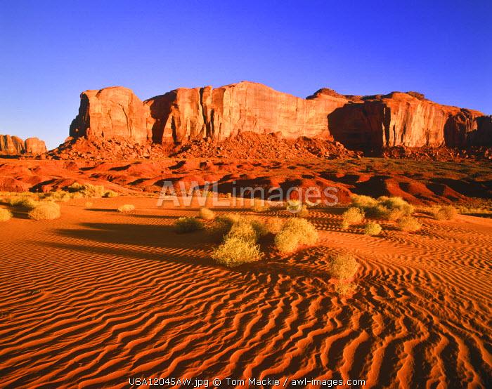 Spearhead Mesa, Monument Valley Tribal Park, Arizona, USA