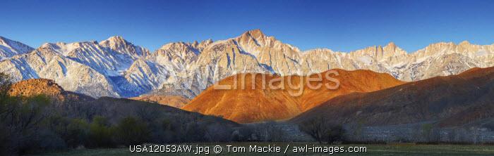Mt. Whitney & Alabama Hills, Eastern Sierras, Lone Pine, California, USA