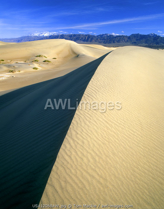 Mesquite Sand Dunes, Death Valley National Park, California, USA