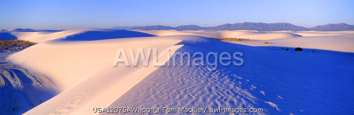 Sand Dunes, White Sands National Monument, New Mexico, USA