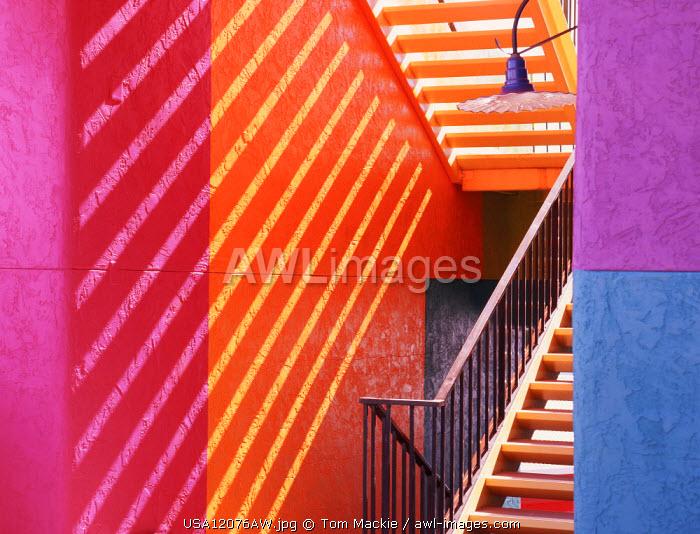 La Placita Staircase, Tucson, Arizona, USA
