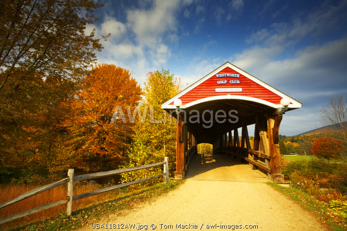 Jackson Covered Bridge, New Hampshire, USA
