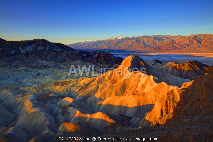 Manly Beacon, Death Valley National Park, California, USA