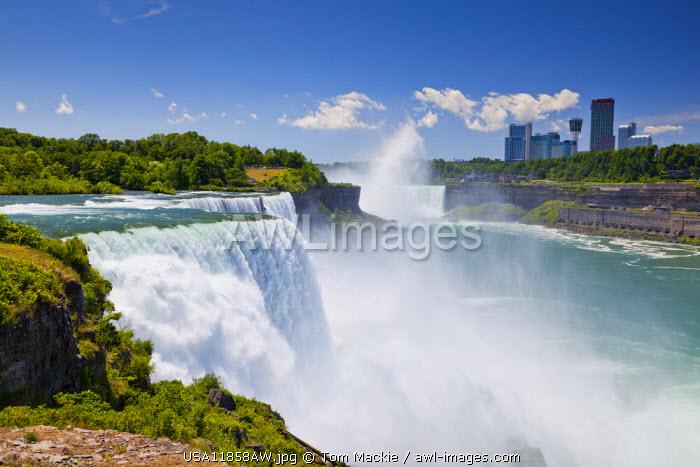 American Falls of Niagara Falls, New York State, USA