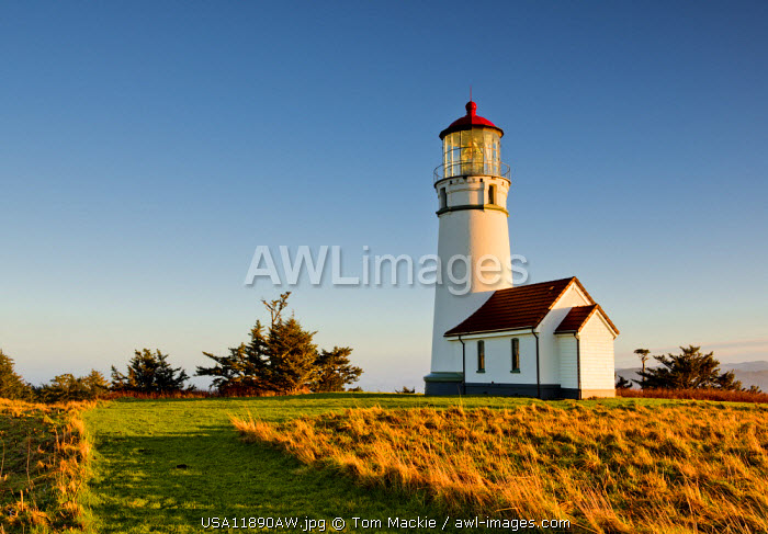 Cape Blanco Lighthouse, Oregon, USA