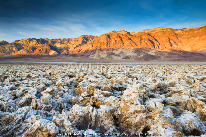 Devil's Golf Course, Death Valley National Park, California, USA