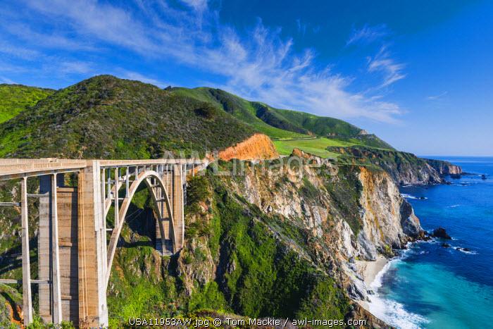 Bixby Bridge & Big Sur Coastline, California, USA