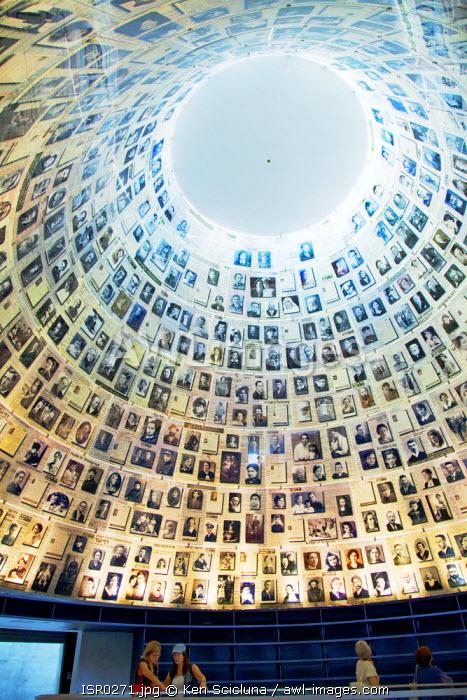 Israel, Jerusalem. The Yad Vashem Memorial Museum.