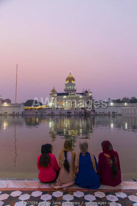 India, Delhi, New Delhi, Gurdwara Bangla Sahib, Sikh temple