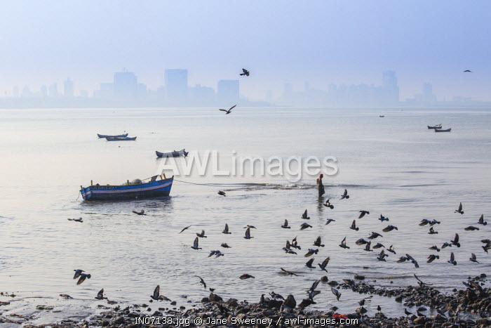 India, Maharashtra, Mumbai, Chowpatty