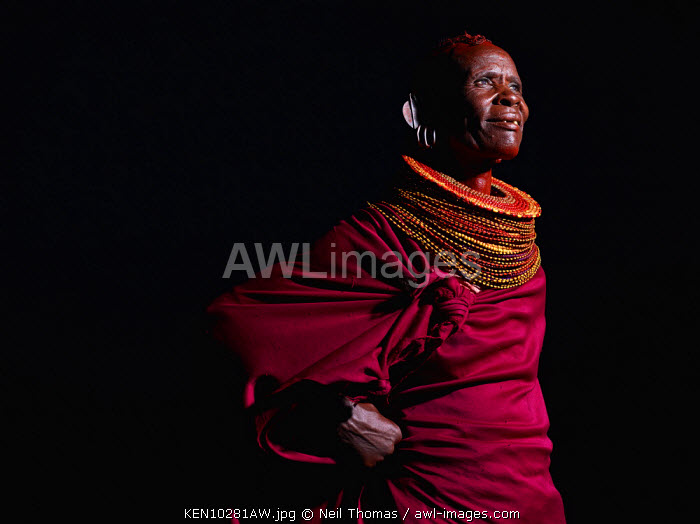 Turkana woman, Kenya, Africa