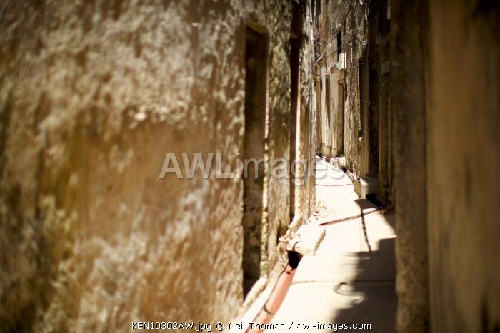 Streets of Lamu, Kenya, Africa