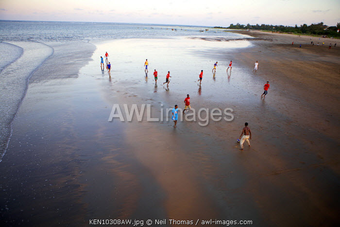 Beach football, Malindi, Kenya