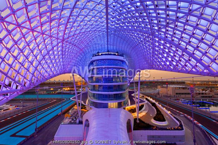 United Arab Emirates, Abu Dhabi, Yas Viceroy hotel