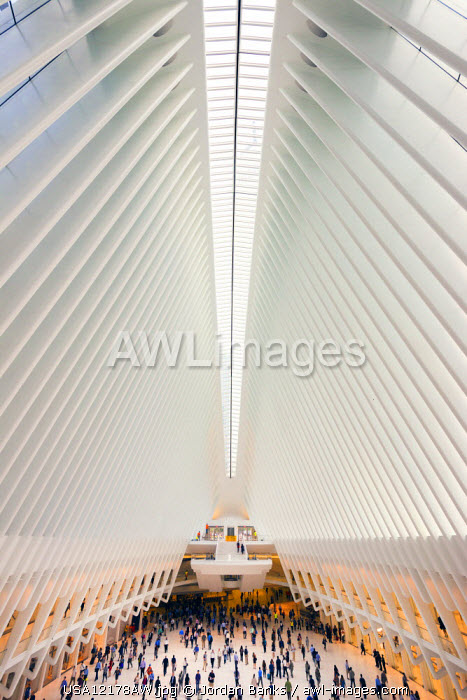 World trade centre terminal, Manhattan, New York, USA