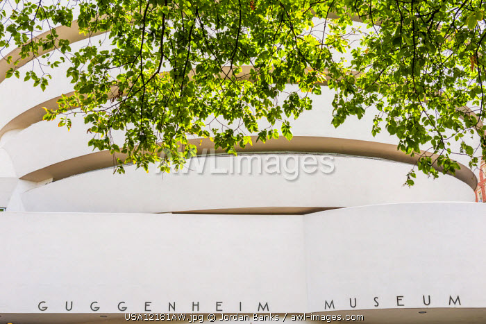 Solomon R Guggenheim Museum, Manhattan, New York, USA