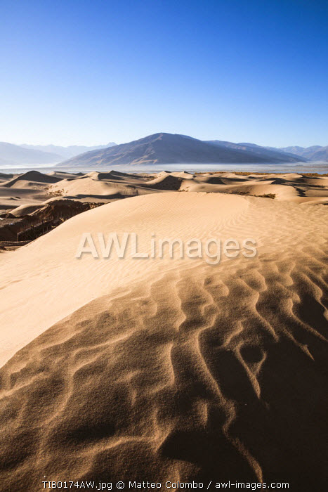 Sand dunes near Samye, Tibet, China