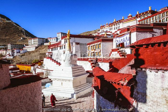 Ganden monastery, Tibet, China