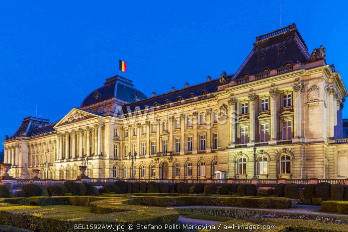 Palais Royal or Royal Palace, Brussels, Belgium