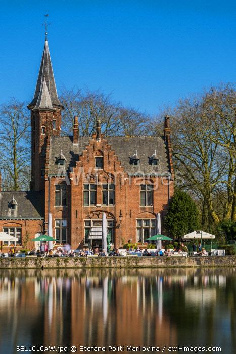 Kasteel Minnewater, Bruges, West Flanders, Belgium