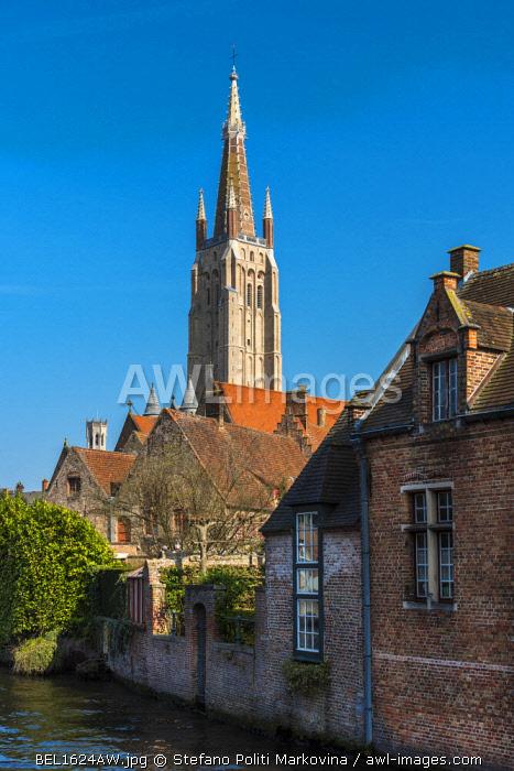 Church of Our Lady in Bruges' belfry, Bruges, West Flanders, Belgium
