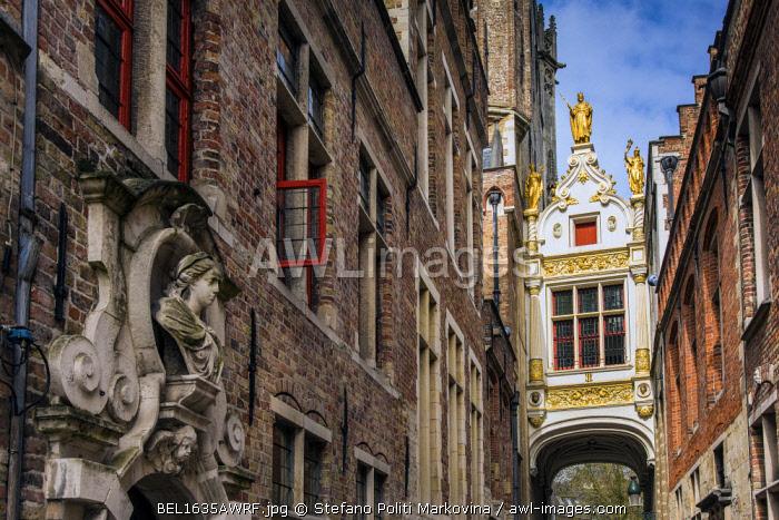 Brugse Vrije building, Burg, Bruges, West Flanders, Belgium
