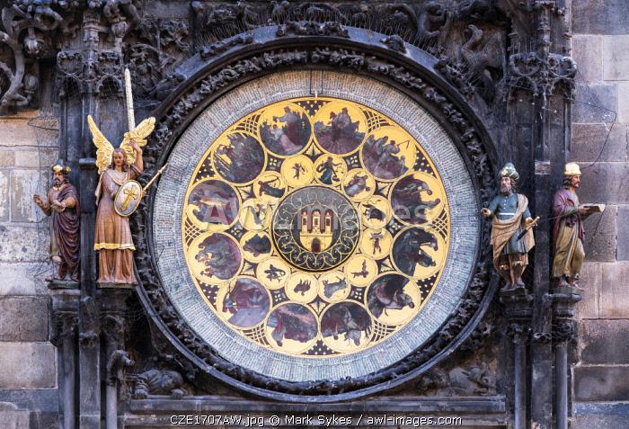 Europe, Czech Republic, Prague, Old Town Square, Astronomical Clock